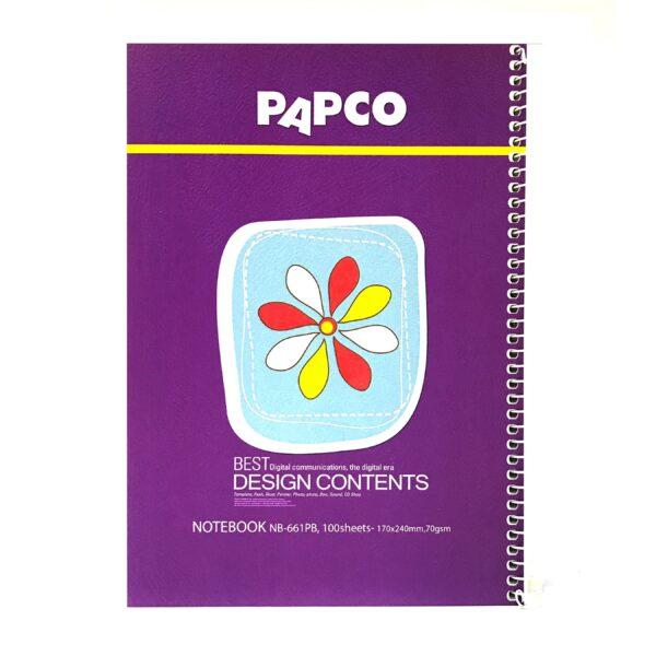 دفتر 100برگ پاپکو