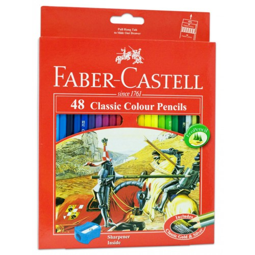 مداد رنگی فابرکاستل جعبه مقوایی