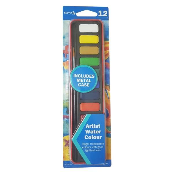 آبرنگ 12 رنگ ریوز Artist