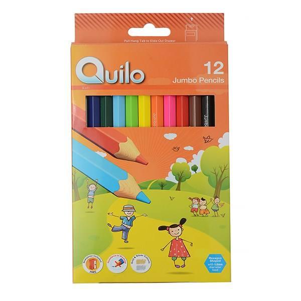 مداد رنگی کویلو جامبو