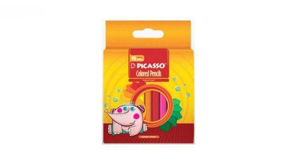 مدادرنگی 12 رنگ کوتاه پیکاسو