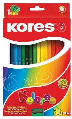 مداد رنگی کورس مدل Kolores