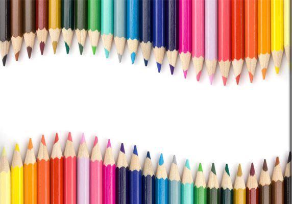 تاریخچه مداد رنگی