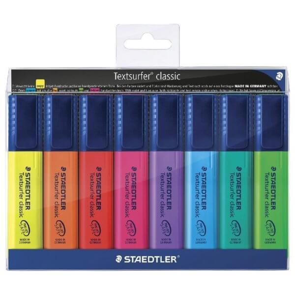 ماژیک هایلایت 8 رنگ استدلر