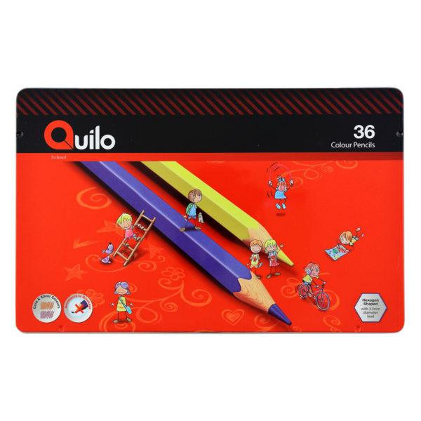 مداد رنگی 36 رنگ کویلو