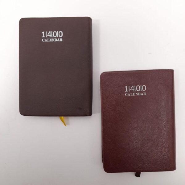 تقویم جیبی 1400 چرمی پرادا
